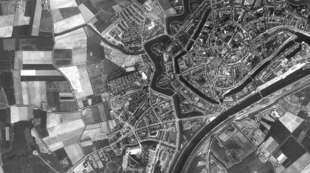 Dotka luchtfoto Middelburg 1959