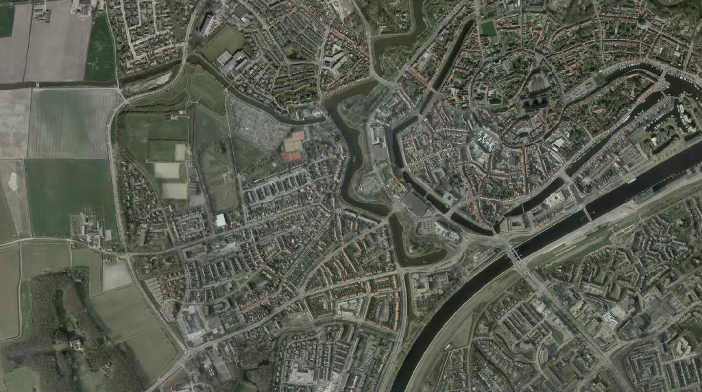 Dotka luchtfoto Middelburg 2011