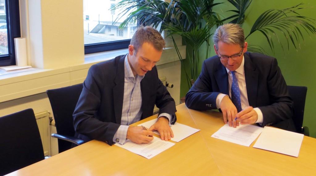 Samenwerkingsovereenkomst Grontmij en Dotka Data