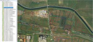 1986 luchtfoto mozaiek gemeente Leusden