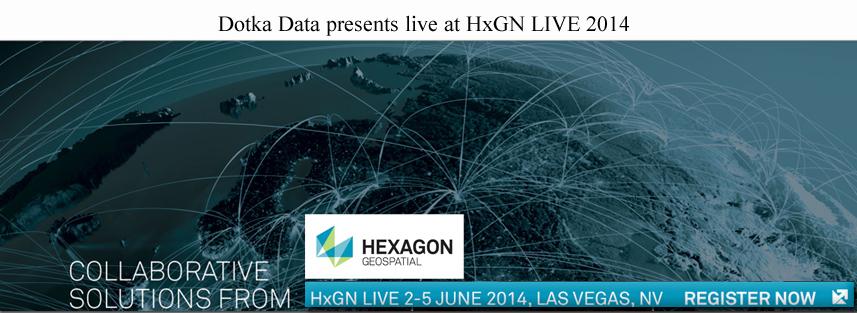 Dotka Data live at hexagon live 2014