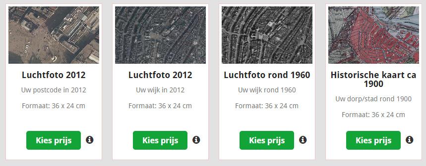 Postcode Loterij Luchtfoto prijs