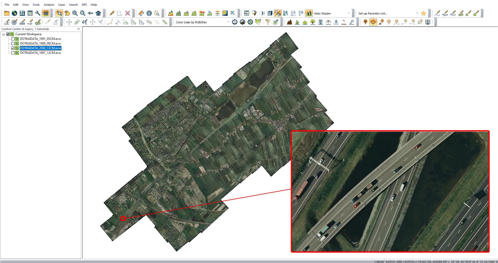 Gemeente Leidschendam Voorburg 13cm pixelresolutie