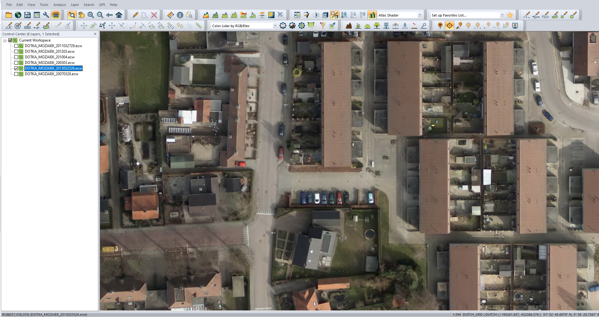 Gemeente Lingewaard 2013 7CM pixelresolutie