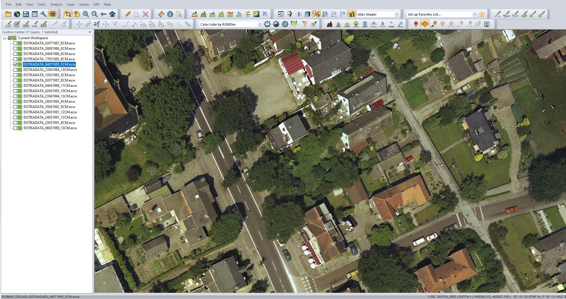 Gemeente Soest 1985 5CM pixelresolutie